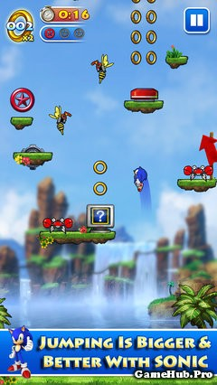 Tải Game Sonic Jump Apk Cho Android miễn phí