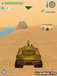 Tải Game Tank Battle 3D Desert Titans Cho Java