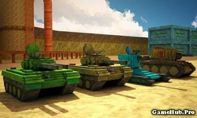 Tải Game Toon Tank Craft War Mania Hack Mod Android