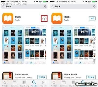 Hướng dẫn cách xóa và khôi phục ứng dụng gốc trên iOS 10