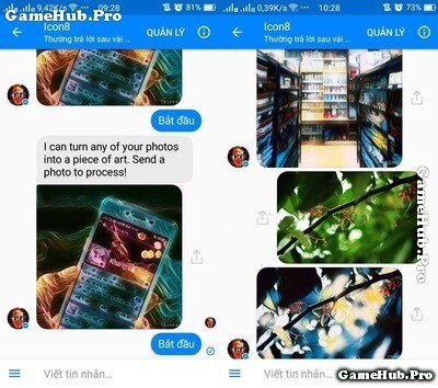 Hướng dẫn chỉnh sửa ảnh nghệ thuật trên Facebook Messenger