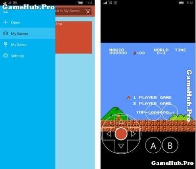 Hướng dẫn giả lập chơi Contra, Mario trên Windows Phone