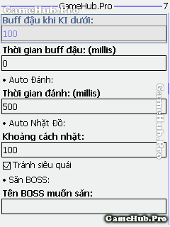 Hack Ngọc Rồng Online 135 Premium v6.1 cho Java Android