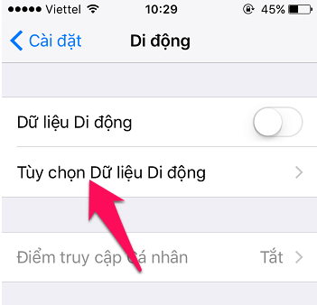 Hướng dẫn khắc phục sóng Yếu trên điện thoại iPhone