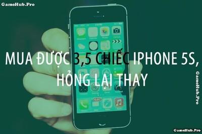 Nếu không mua iPhone 7 bạn sẽ mua được những thứ này