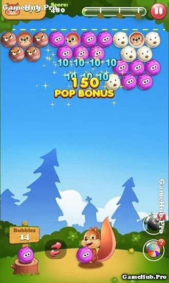 Tải game Bubble Shoot Pet - Nuôi Sóc cực hay cho Android