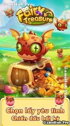Tải game Fairy Treasure - Xây đảo chiến đấu cho Android