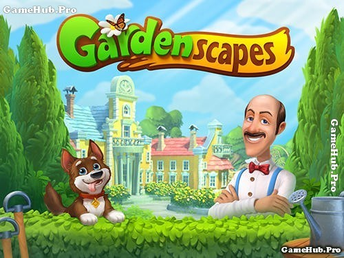 Tải game Gardenscapes - Mô phỏng thành phố cho Android