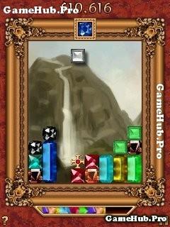 Tải game Gem Drop Deluxe - Xếp hình Kim Cương cho Java