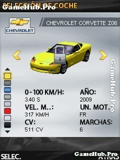 Tải game GT Racing motor academy - Đua xe Gameloft Java