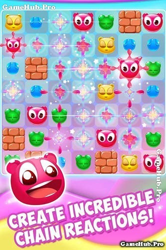 Tải game Gummy Pop - Hành động giải đố cực hay Android