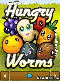 Tải game Hungry Worms - Sâu ăn trái cây hay cho Java