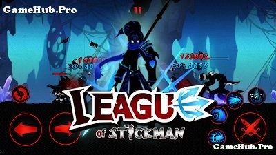 Tải game League of Stickman 2016 Hack Tiền cho Android
