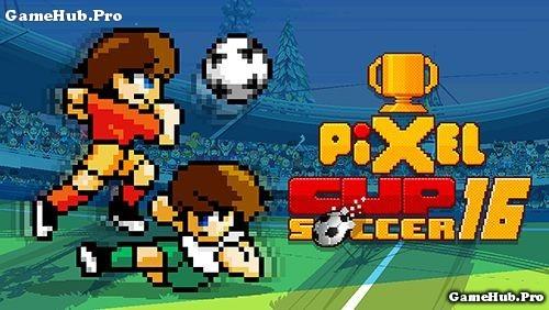 Tải game Pixel Cup Soccer 16 - Đá bóng cho Android free