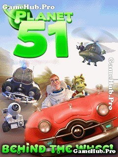 Tải game Planet 51 Behind The Wheel - Đua UFO cho Java