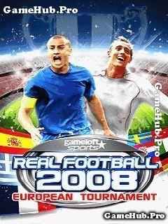Tải game Real Football 2008 2D 3D - Đá bóng cho Java