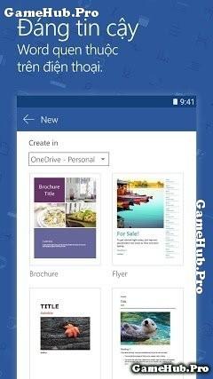 Tải Microsoft Word Apk - Soạn thảo văn bản cho Android