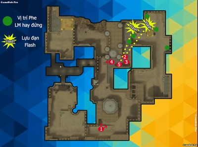 Chiến thuật tấn công nhanh map Trung Đông game Tập Kích