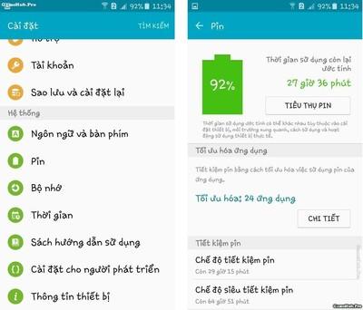 Thủ thuật tiết kiệm Pin hiệu quả cho điện thoại Samsung