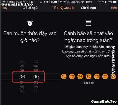 Tìm hiểu tính năng hẹn giờ đi ngủ và thức dậy iOS 10