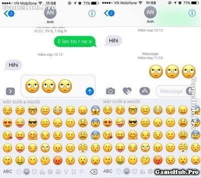 Hướng dẫn tính năng Tapback và Emoji trên iMessage