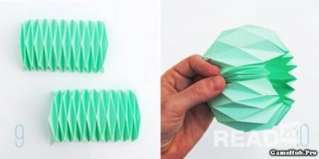 Hướng dẫn cách làm lồng đèn bằng giấy cơ bản mà đẹp