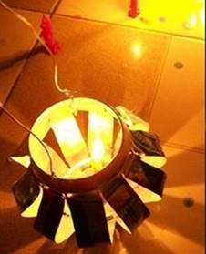 Hướng dẫn cách làm lồng đèn từ vỏ lon bia cực đẹp
