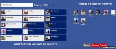 Hướng dẫn cách xóa bạn bè không tương tác trên Facebook