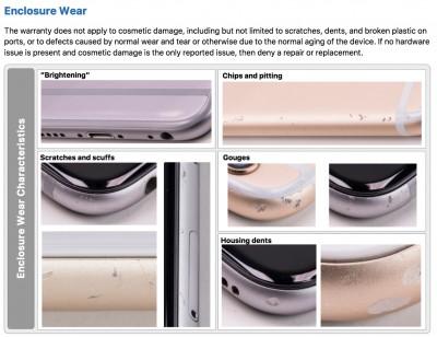 iPhone bị nứt màn hình, nước vào, móp vỏ có được bảo hành ?