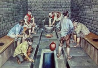 Người La Mã cổ đại đi vệ sinh như thế nào ?