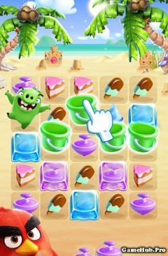 Tải game Angry Birds Match - Bầy chim nổi giận Android
