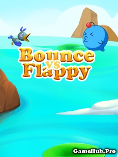 Tải game Bounce vs Flappy - Chim bóng cực hay Java