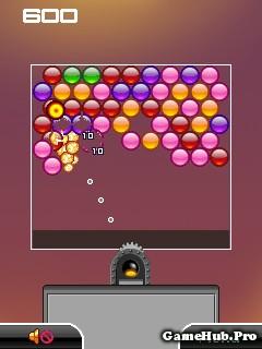Tải game Bubble Clouds - Bắn bong bóng cổ điển Java