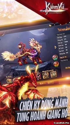 Tải game Kiếm Vũ VNG - Nhập vai kiếm hiệp Android iOS