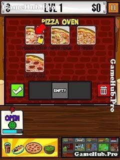 Tải game Pizza Time! - Quản lý tiệm bánh cho máy Java