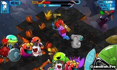 Tải game Quadropus Rampage - Bạch tuộc báo thù Mod Money