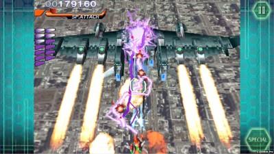 Tải game RAYSTORM - Máy bay bắn súng bom tấn Android