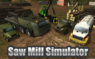 Tải game Sawmill Driver Simulator 3D - Mod Money Android