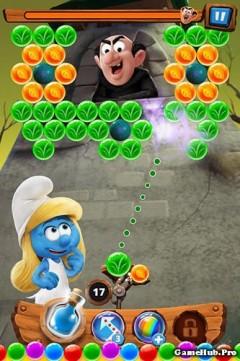 Tải game Smurfs Bubble Story - Bắn bóng đẹp mắt Android