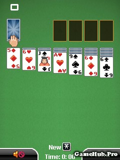 Tải game Solitaire Cards Deluxe - Xếp bài cho Java miễn phí