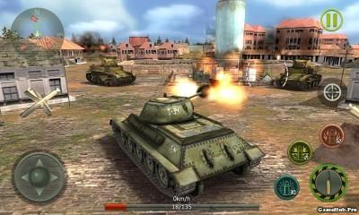 Tải game Tank Strike 3D - Bắn xe tank hack tiền Android