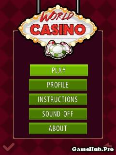 Tải game World Casino - Thế giới của sòng bạc cho Java