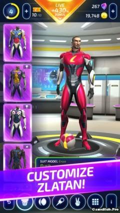 Tải game Zlatan Legends - Kỹ năng và quyết tâm cho Android