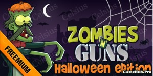Tải game Zombie N Gun Halloween Edition - Bắn Zombie Java