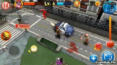 Tải game Zombie Street Battle - Bắn súng Mod Money Android