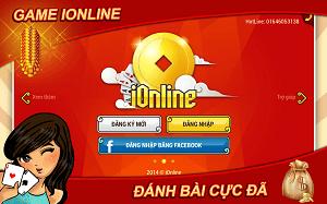 Tải iOnline 308 - Game đánh bài đẳng cấp