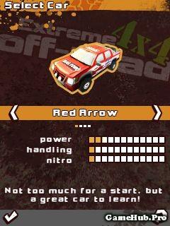 Tải Game 4x4 Extreme OffRoad Đua Xe Địa Hình Cho Java