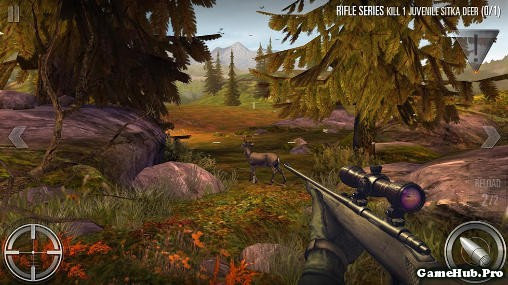 Tải Game Deer Hunter 2016 Hack Full Tiền Android apk