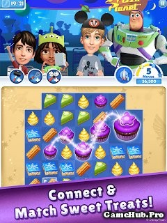 Tải Game Dream Treats Match Sweets Hack Cho Android