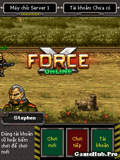 Tải Game XForce Online Cho Java và Android miễn phí